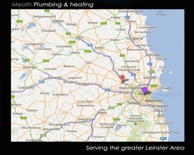 Plumbing and heating in Meath, Dublin, Kildare, Louth, Wicklow...